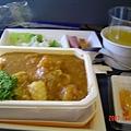 飛機中餐(海鮮咖哩套餐)
