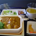飛機中餐1(海鮮咖哩套餐)
