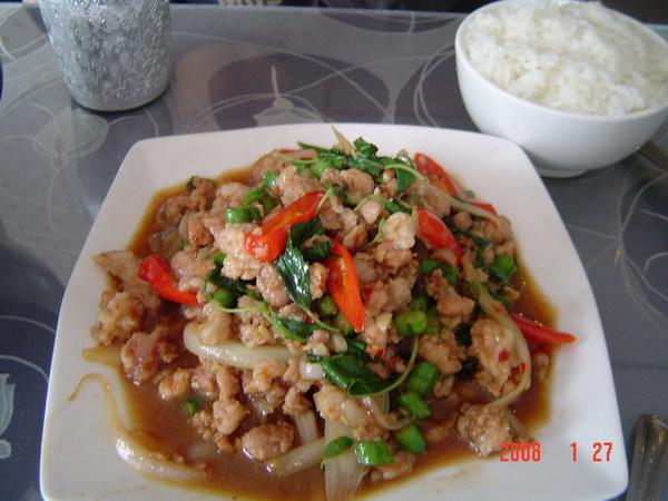 PAPAYA餐廳~拋打豬肉(150元)
