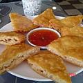 PAPAYA餐廳~月亮蝦餅(180元)