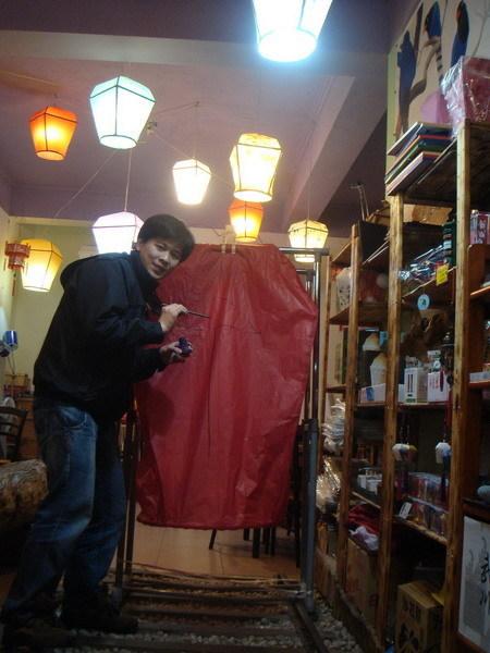 天燈DIY13