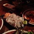 海鮮燒烤(現殺小管沙西米)