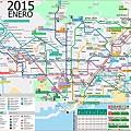 巴塞隆納地鐵圖