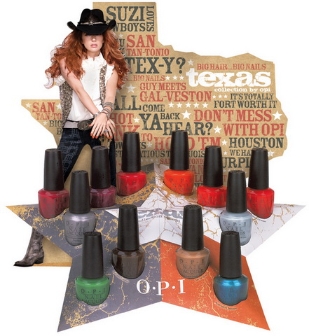 OPI Texas Collection