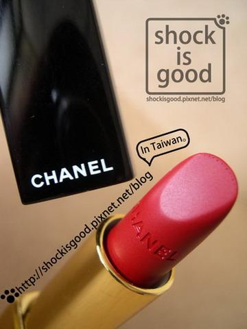 Chanel超炫耀的絲絨唇膏