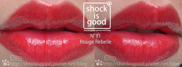 N°11 Rouge Rebelle