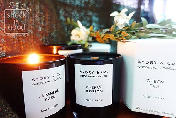 AYDRY & Co. 木芯香氛蠟燭 Wooden wick candle