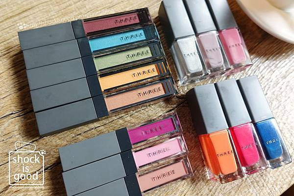 THREE 2017夏妝 Summer Makeup Collection