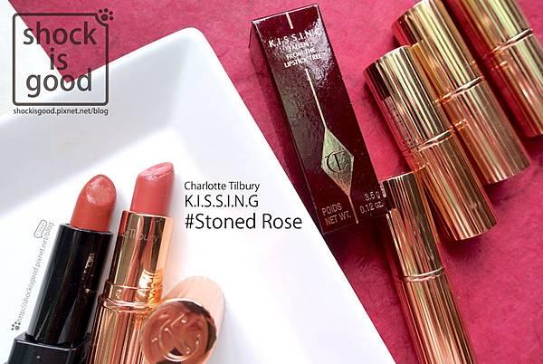 Charlotte Tilbury K.I.S.S.I.N.G Lipstick STONED ROSE