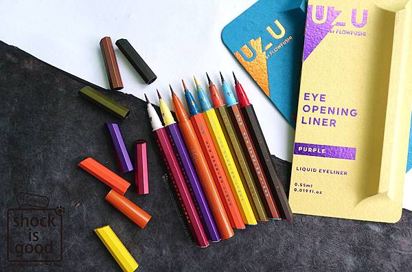 UZU BY FLOWFUSHI Eye Opening Liner 眼線液 アイオープニングライナー