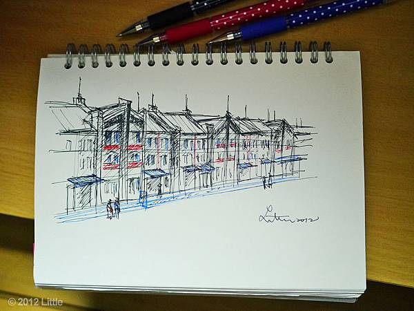 橫濱紅磚倉庫,速寫