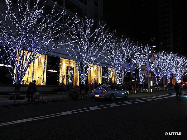 2013.12 東京六本木 HILLS 街頭燈飾