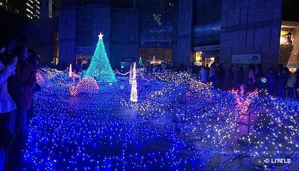 2013.12 東京 caretta 汐留燈飾