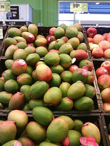 超市賣的芒果
