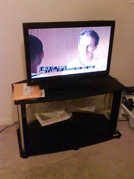 我家的電視