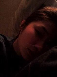 沉睡的側臉