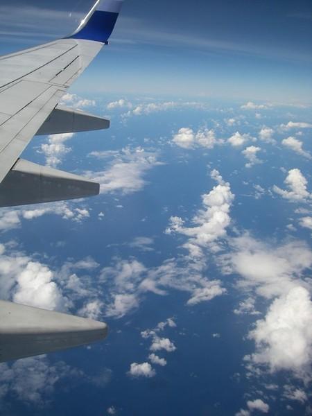 飛機下的天空