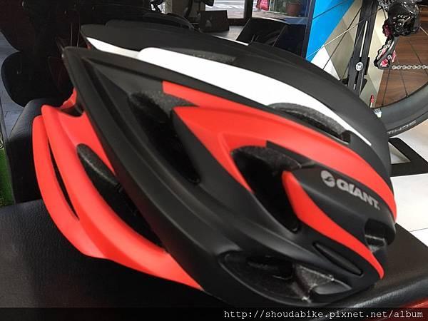 GIANT ARCHER 安全帽-消光黑紅1.jpg