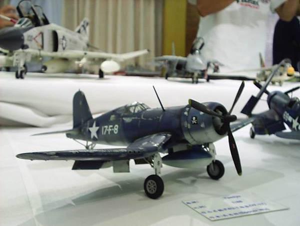 二戰太平洋戰場名機F4U