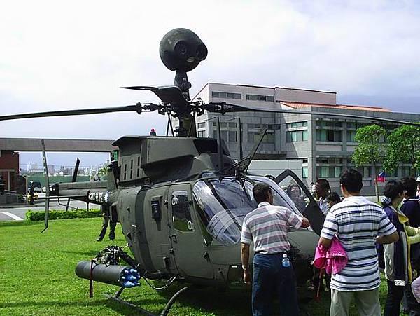 OH-58戰搜直昇機~