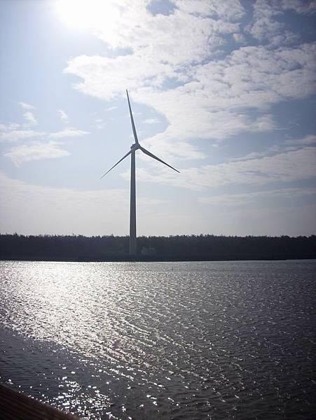 風車所在地無法靠近,真是殘念