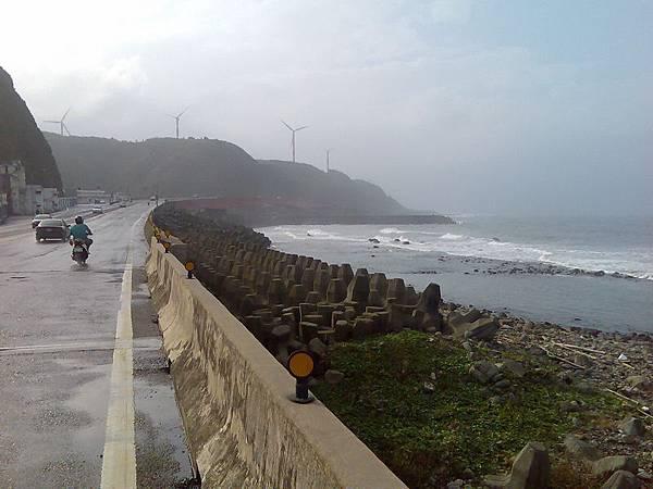 核電廠附近的風車