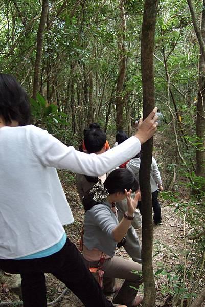 部落的第一個景點-神祕谷