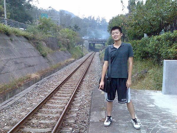 最後了,內灣車站~