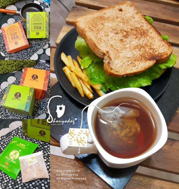 薑可治健康農產行乾薑茶包薑紅茶包-薑茶推薦
