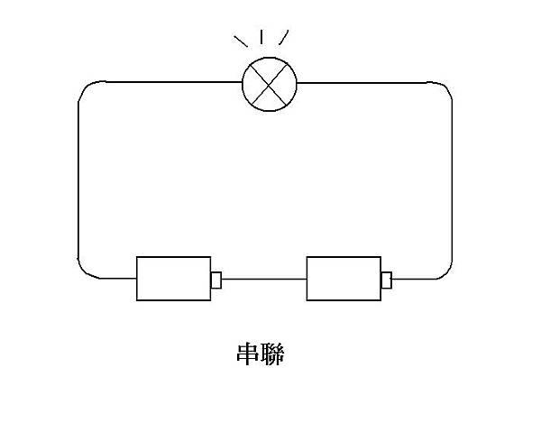 [led燈泡]電池串聯與并聯圖片