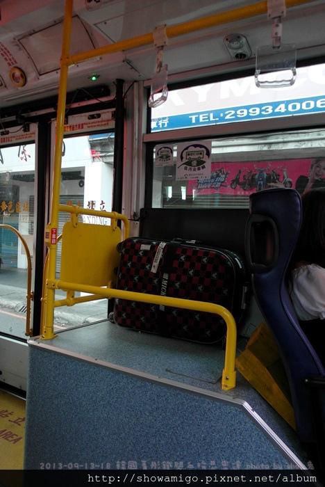 第一次搭公車去機場~~方便又快速