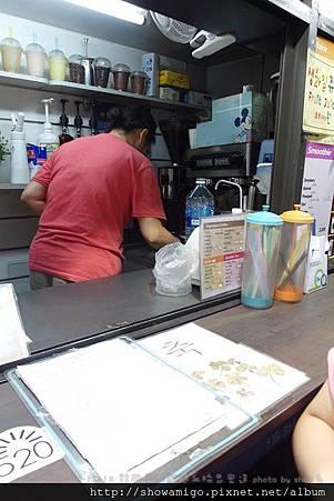 街邊阿珠罵咖啡果汁攤