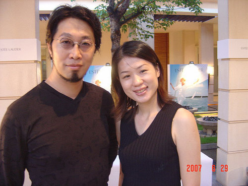 李老師與知名沙畫家莊明達老師