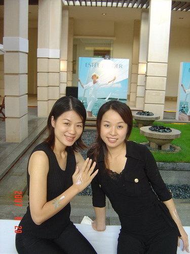 李老師與彩妝師