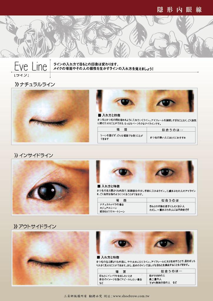 隱形內眼線