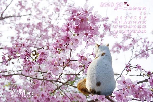 2013 03 桌曆