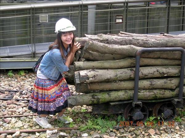 我只能做搬搬木頭這種輕鬆的小事