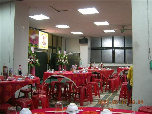 喜宴會場~~非常的local~~