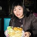 布丁點的炭烤雞腿三明治~~還是大~~= =