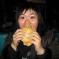 位啥你吃漢堡就不會露出鼻孔!!!