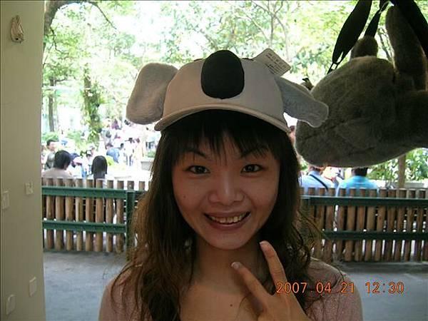 不想買帽子我過乾癮也好!! 哇哈哈
