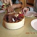 非常好吃的蛋糕喔! 香草焦糖口味的