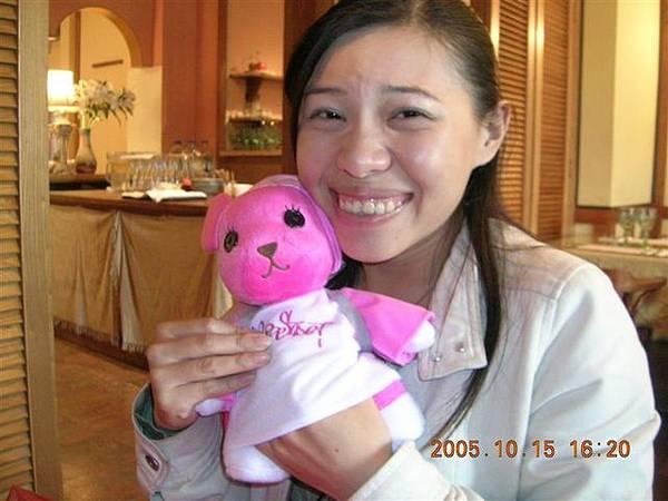 小男的禮物是--可愛的momo熊! 她傷了我的心..>