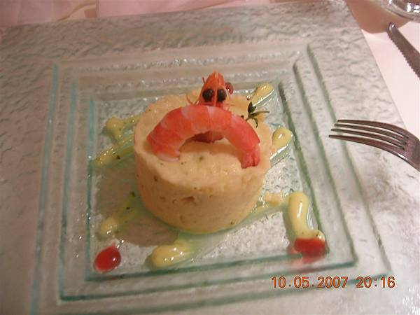 鮮蝦洋芋沙拉一樣美味喔!
