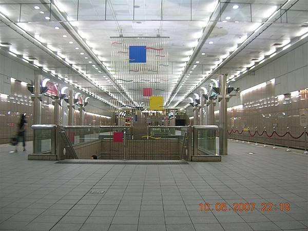 第一次來到中正紀念堂站