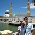 很阿拉丁城堡的清真寺