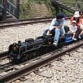 實體縮小的小火車