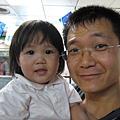 小波妞與她老爸