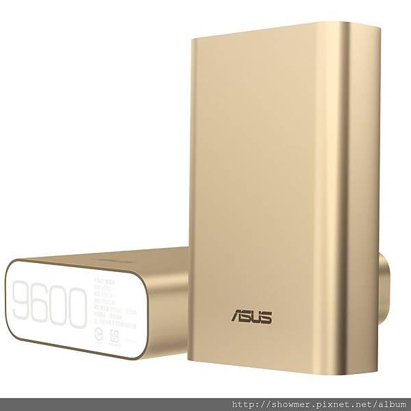 ASUS ZenPower行動電源兼具工藝美學元素與實用性能,小巧身型蘊藏高達9600mAh的超大電量,支援2.4A極速快充,超高充電效率可縮短充電時間
