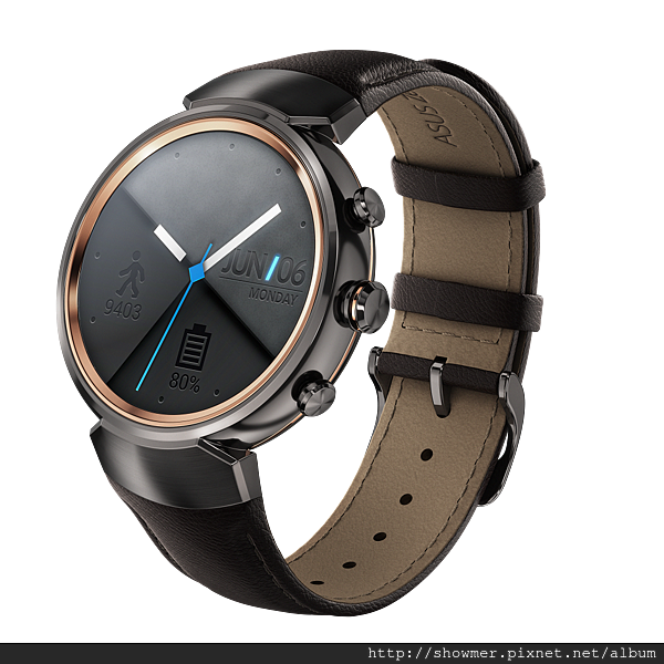 ZenWatch 3_gunmetal with leather_WI503Q